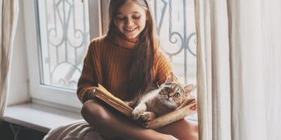 Czy Twój kot będzie miał do czynienia z dziećmi?